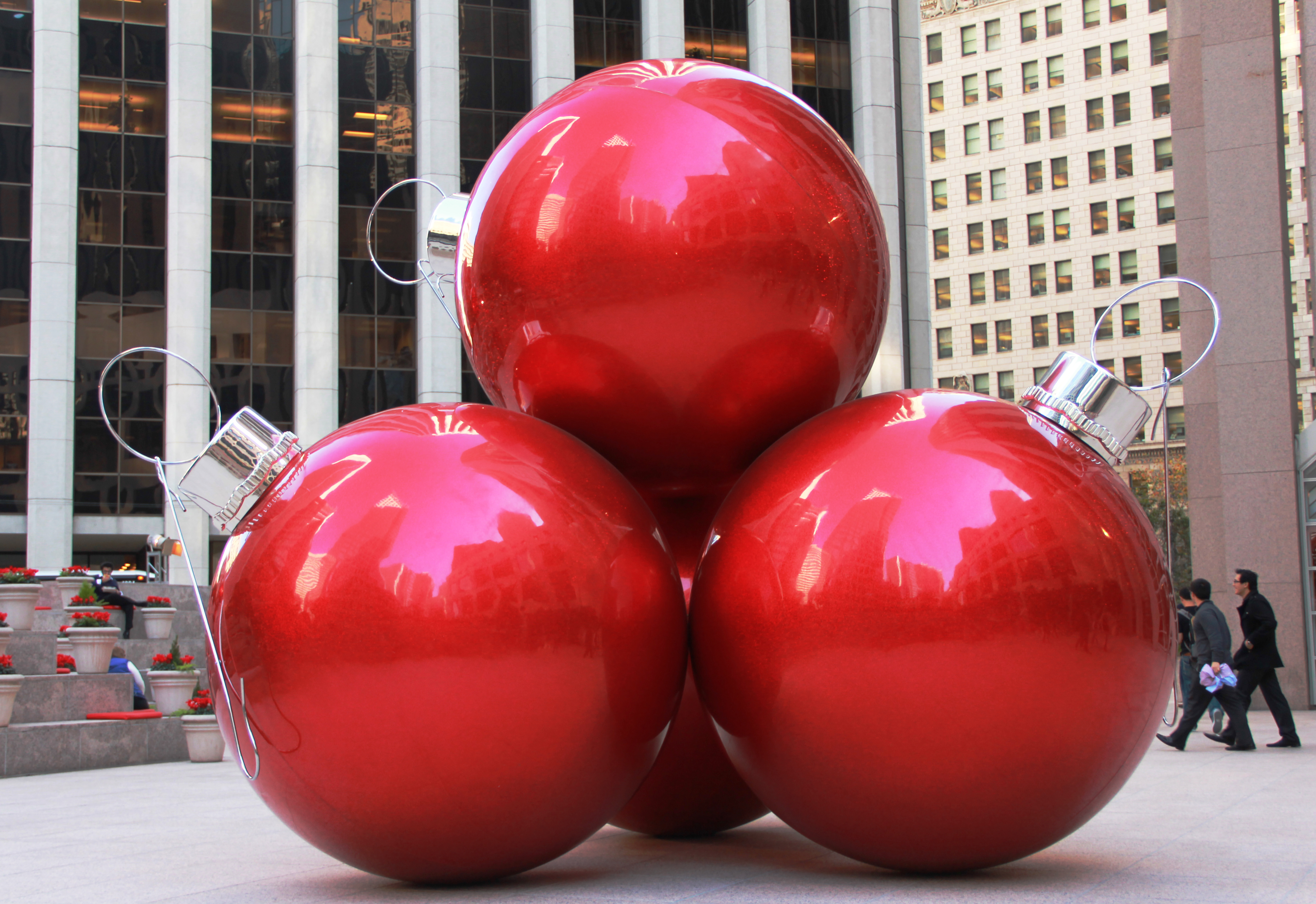 Want to see life size Christmas ornaments? | Just a little Brit